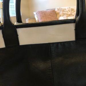 kate spade Bags - Kate Spade Medium Size Navy and Cream Crossbody